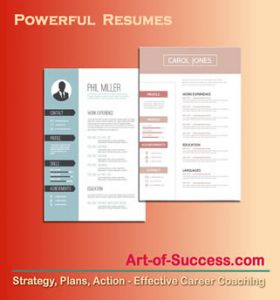 Create Powerful Resumes for Effective Job Search
